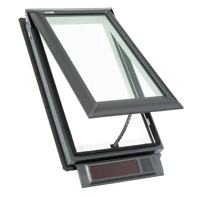 High Quality Aluminum Electric Skylight for Top Floor Room with Tempered Glass