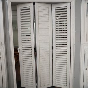High Quality Aluminum Folding Shutter for Homes with Double Folding Effect DY-FLD004
