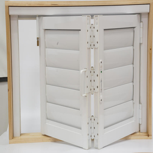 Germany Imported Aluminum Folding Shutters for Shower Room with Privacy Performance