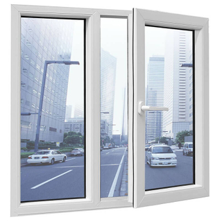 Customized Casement Window with PVC Material Sliding Casement Window