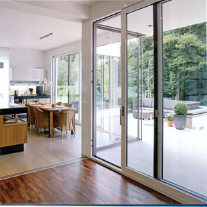 Professionally Designed Folding Door for Villa Hotel with Waterproof Function
